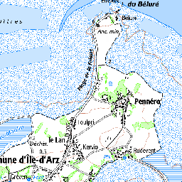 Golfe du Morbihan - Iles de Boede et Boedic | Atlas des zones de ...