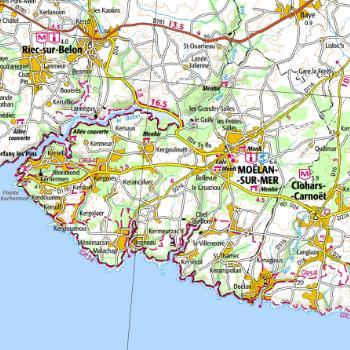 Carte Bretagne Riec Sur Belon.Fiche Ma Commune Siges Bretagne C 2019