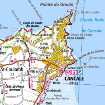 Carte Bretagne Cancale.Fiche Ma Commune Siges Bretagne C 2019